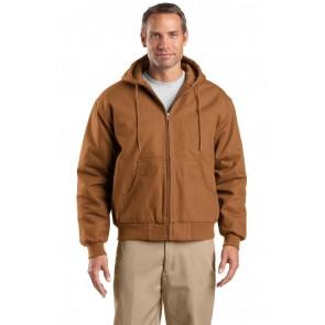 CornerStone Tall Duck Cloth Hooded Work Jacket