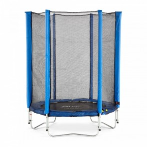 Trampoline and Enclosure Blue