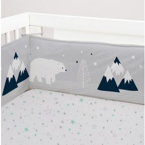 Traveller 2 Piece Cot Bumper Set by Lolli Living