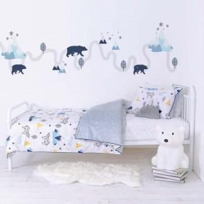 Traveller 2 Piece Single Bed Duvet Set by Lolli Living