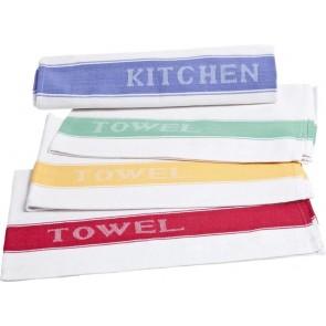Oslo Tea Towel Various Colour