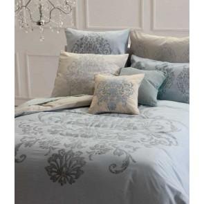 MM Linen Valencay Reversible European Pillowcase