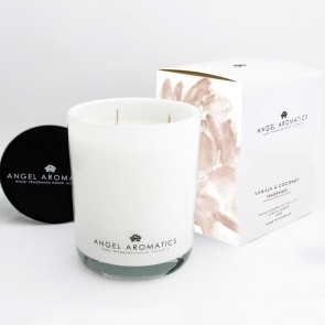 470g Glass Candle Vanilla Coconut