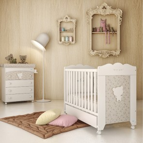Cute Co Vintage Cot with Mattress