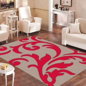 Vibrant Beige Vivid Collection Rug by Saray Rugs