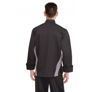 Lyss Black V-Series Chef Jacket by Chef Works