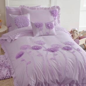 Whimsy Floret Lilac Quilt Cover Set