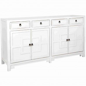 White Havanna Wooden Console