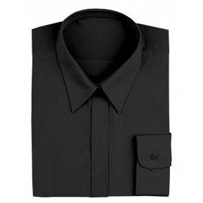 Women's Black Dress Shirt