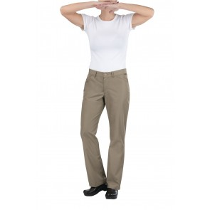 Womens Professional Lite Taupe Chef Pants by Chef Works