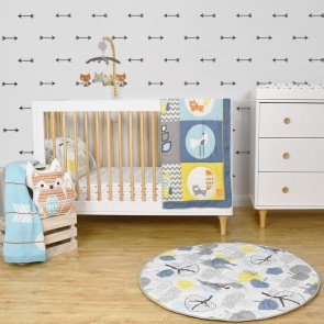 Woods 4 Piece Nursery Set by Lolli Living