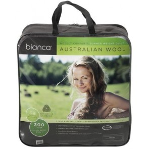 Bianca Woolly Comforts 300GSM Summer Weight Quilt