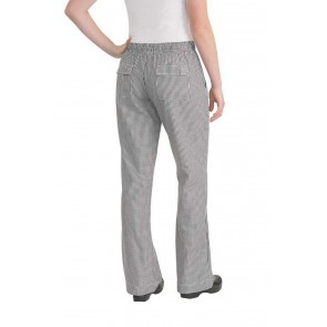 Womens Small Check Chef Pants by Chef Works