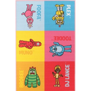 Little Circus-Yo Gabba Printed Kids Rug By Rug Culture