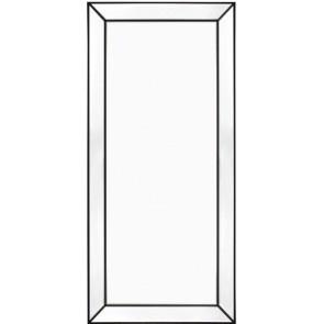Zeta Floor Mirror - Black