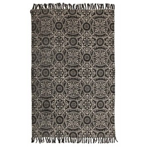 Zulu 5832 Black by Rug Culture