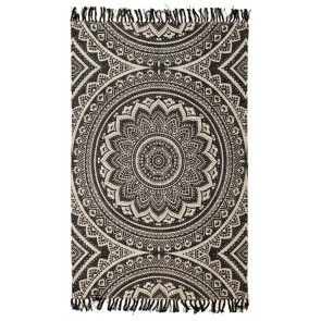 Zulu 5833 Black by Rug Culture