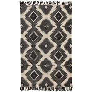 Zulu 5834 Black by Rug Culture