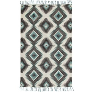 Zulu 5834 Blue by Rug Culture