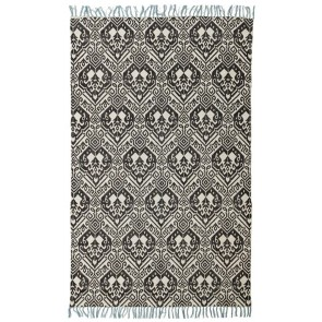 Zulu 5835 Black Rug by Rug Culture