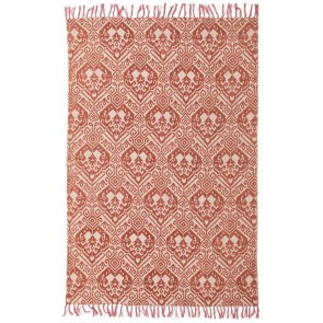 Zulu 5835 Rust Rug by Rug Culture