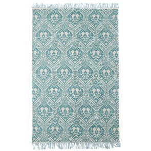 Zulu 5836 Turquoise Rug by Rug Culture