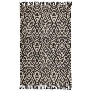 Zulu 5840 Black Rug by Rug Culture